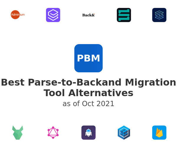 Best Parse-to-Backand Migration Tool Alternatives