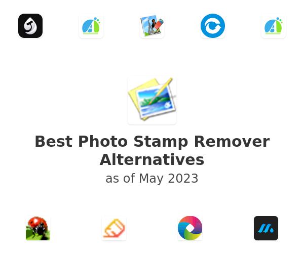 Best Photo Stamp Remover Alternatives