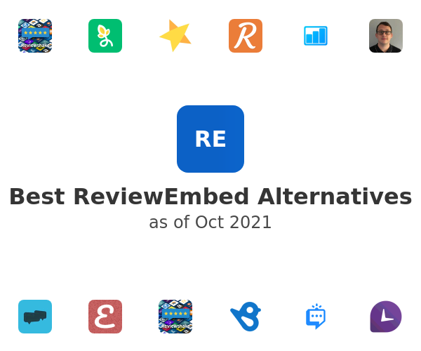 Best ReviewEmbed Alternatives