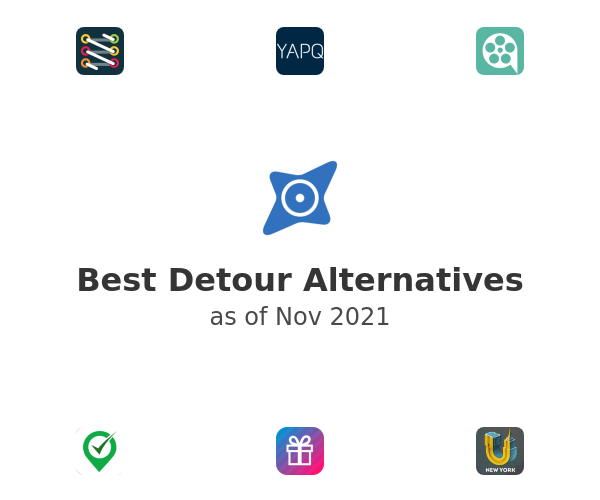 Best Detour Alternatives