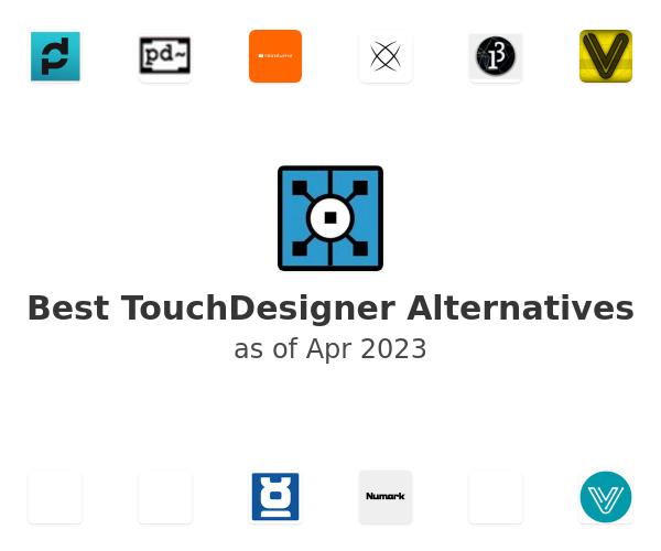 Best TouchDesigner Alternatives