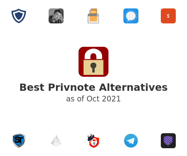 Best Privnote Alternatives