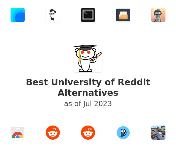 Best University of Reddit Alternatives