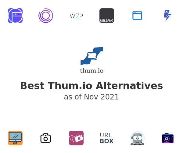 Best Thum.io Alternatives