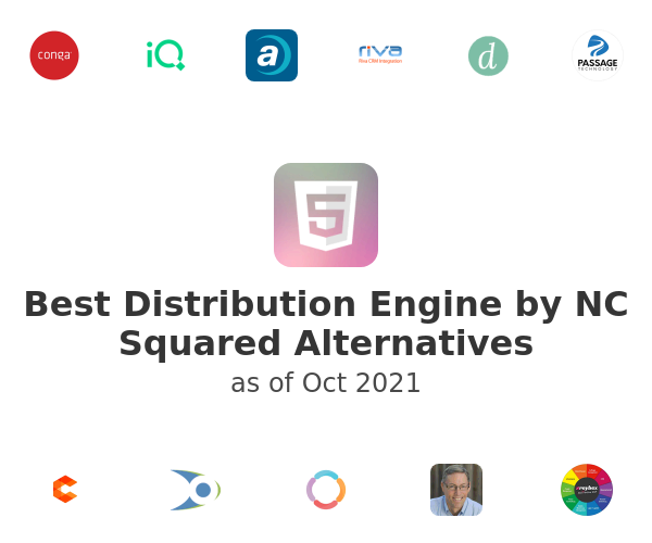 Best Distribution Engine by NC Squared Alternatives