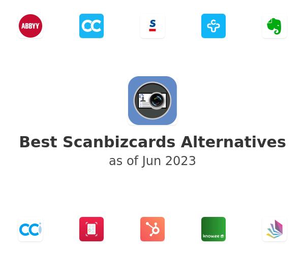 Best Scanbizcards Alternatives