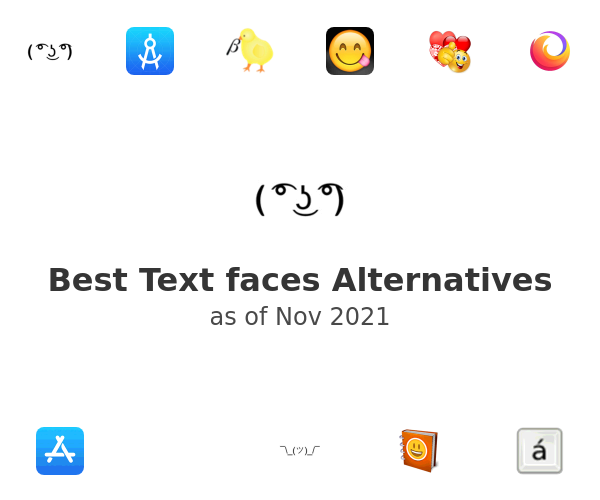 Best Text faces Alternatives