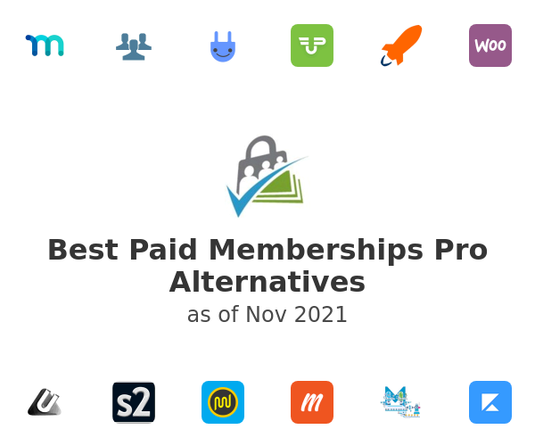 Best Paid Memberships Pro Alternatives