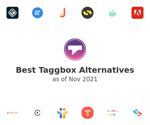 Best Taggbox Alternatives