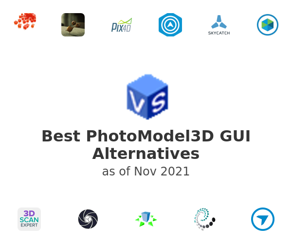Best PhotoModel3D GUI Alternatives