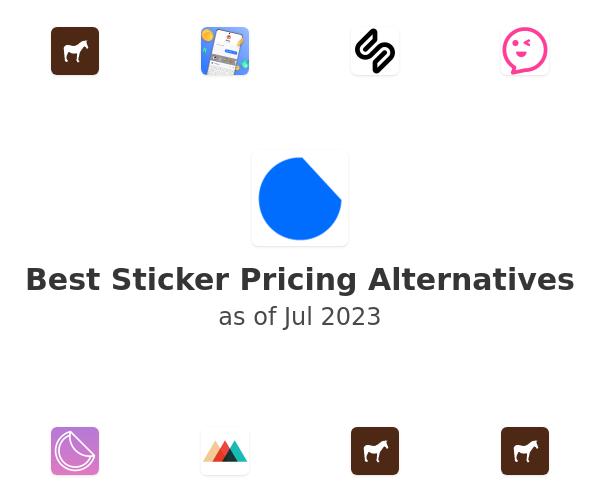 Best Sticker Pricing Alternatives