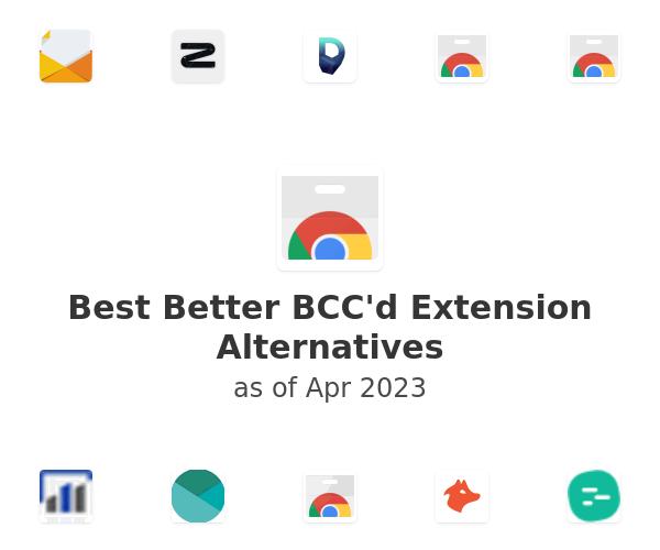 Best Better BCC'd Alternatives