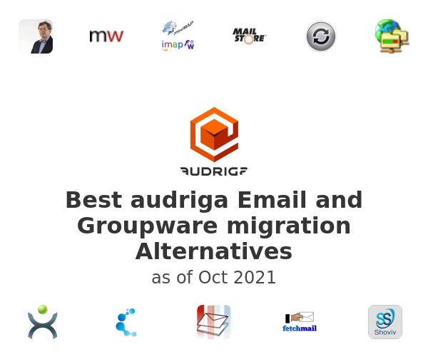 Best audriga Email and Groupware migration Alternatives