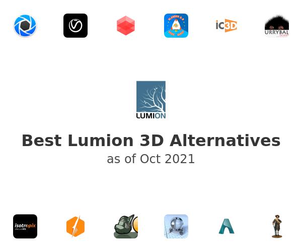 Best Lumion 3D Alternatives