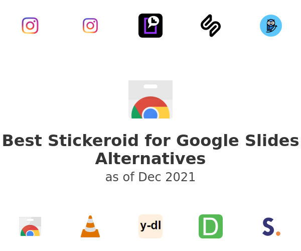 Best Stickeroid for Google Slides Alternatives