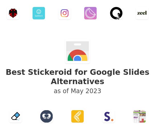 Best Stickeroid for Google Slides Alternatives