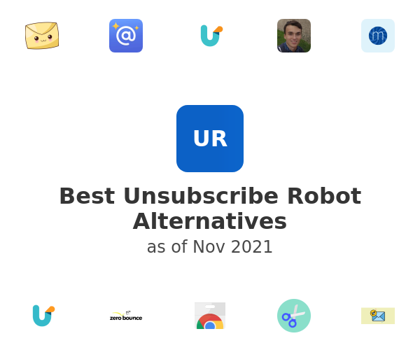 Best Unsubscribe Robot Alternatives