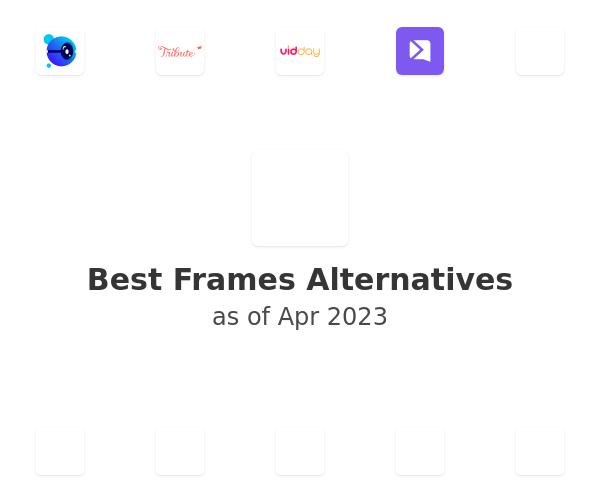Best Frames Alternatives