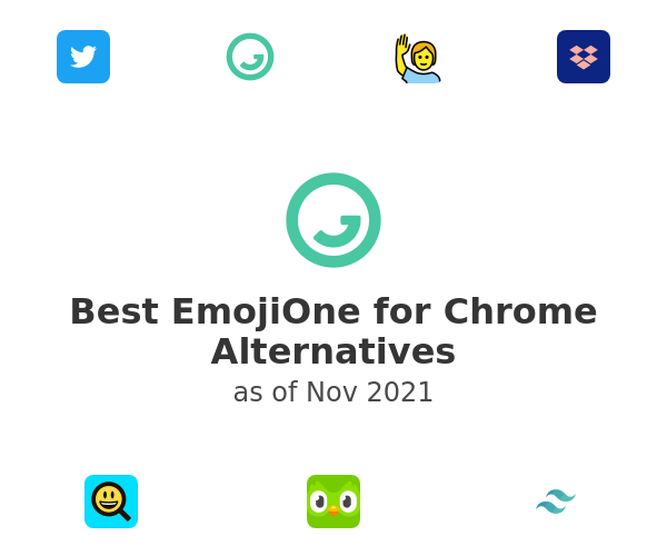 Best EmojiOne for Chrome Alternatives