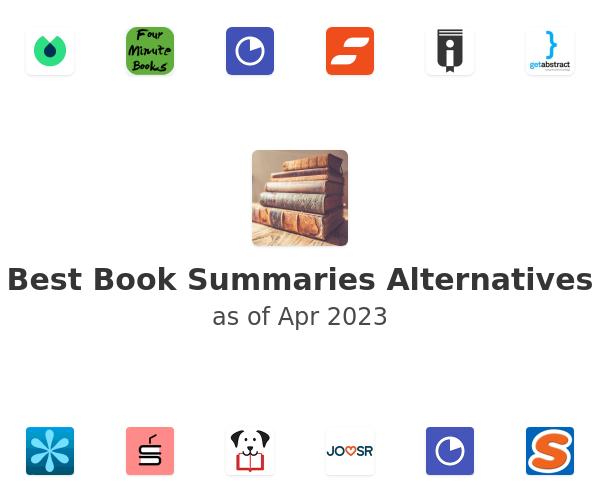 Best Book Summaries Alternatives
