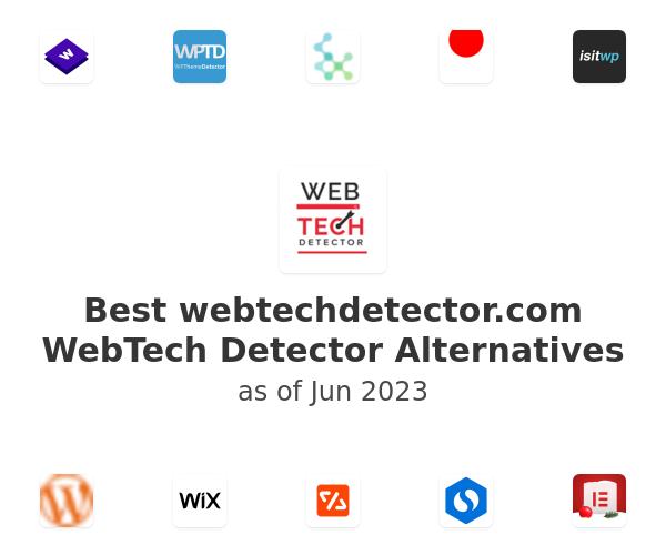 Best WebTech Detector Alternatives