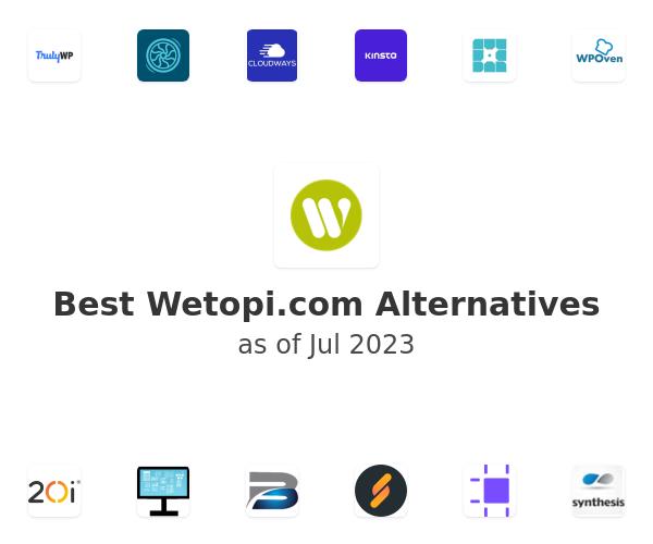 Best Wetopi.com Alternatives