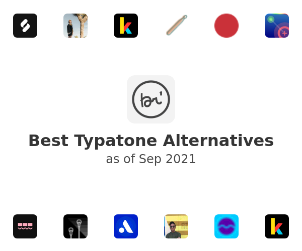 Best Typatone Alternatives