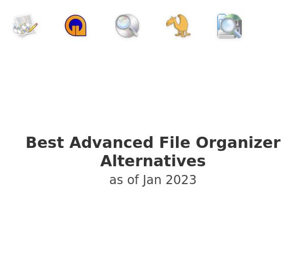 Best Advanced File Organizer Alternatives