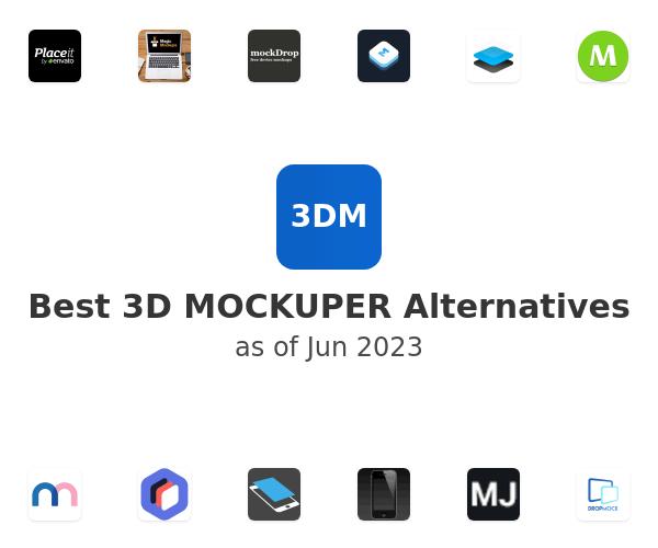 Best 3D MOCKUPER Alternatives