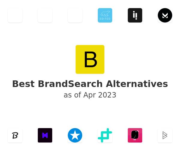 Best BrandSearch Alternatives