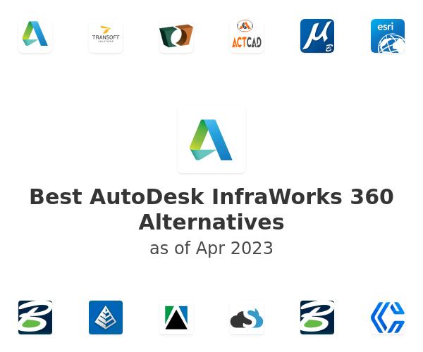 Best AutoDesk InfraWorks 360 Alternatives