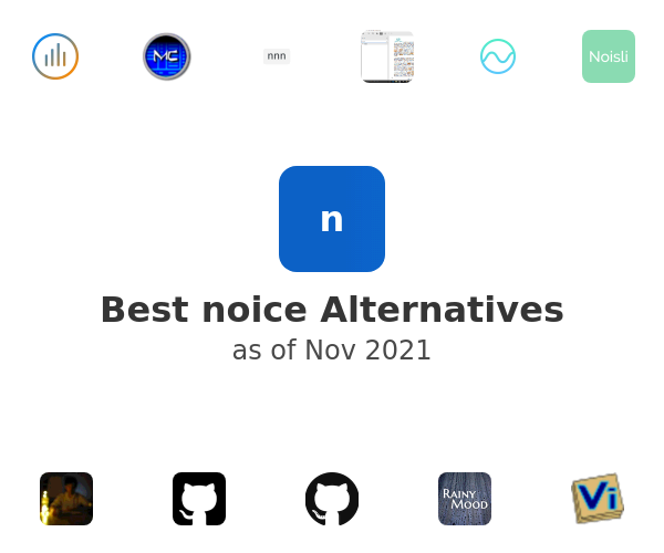 Best noice Alternatives