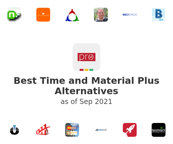 Best Time and Material Plus Alternatives
