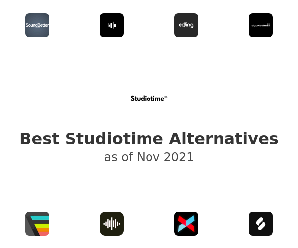 Best Studiotime Alternatives