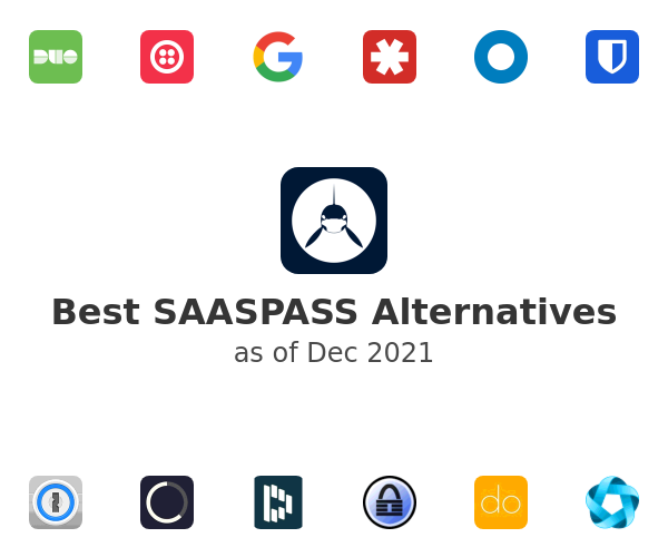 Best SAASPASS Alternatives