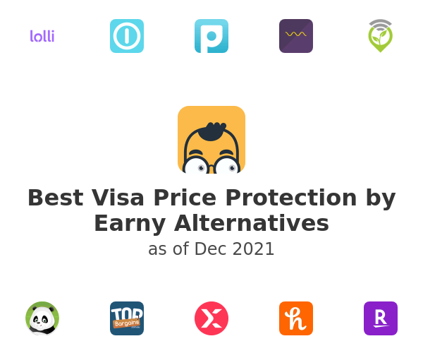 Best Visa Price Protection by Earny Alternatives