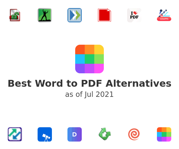 Best Word to PDF Alternatives