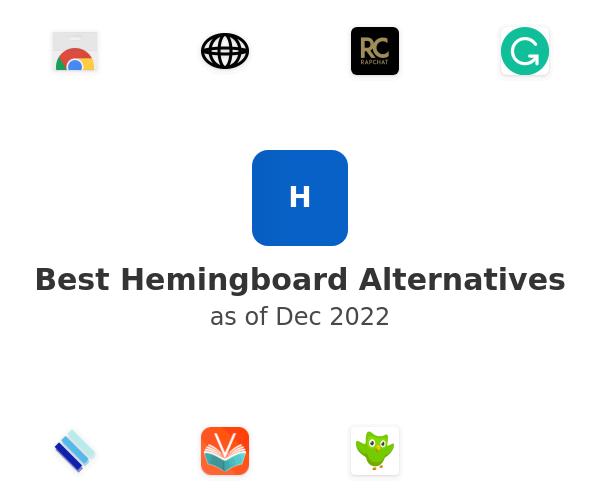 Best Hemingboard Alternatives