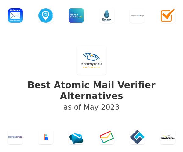 Best Atomic Mail Verifier Alternatives