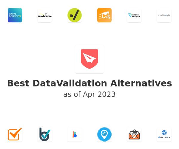 Best DataValidation Alternatives