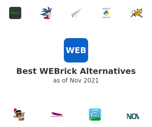 Best WEBrick Alternatives