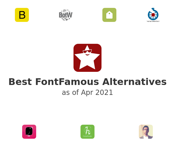 Best FontFamous Alternatives