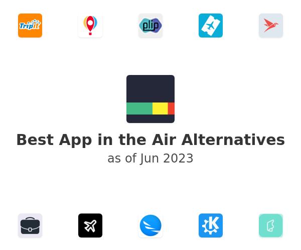 Best App in the Air Alternatives