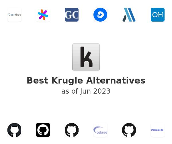 Best Krugle Alternatives