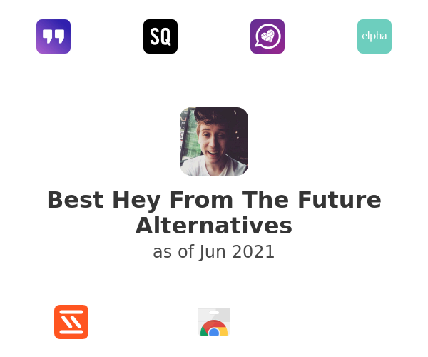 Best Hey From The Future Alternatives