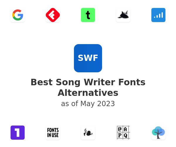 Best Song Writer Fonts Alternatives
