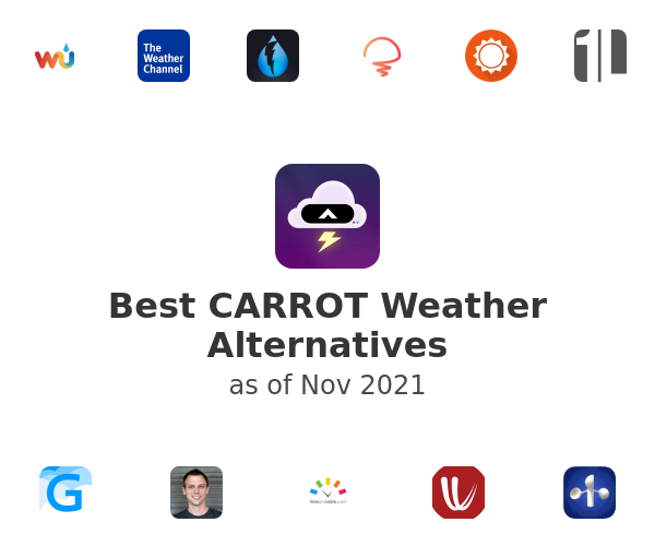 Best CARROT Weather Alternatives