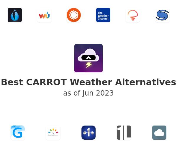 Best CARROT Weather Alternatives