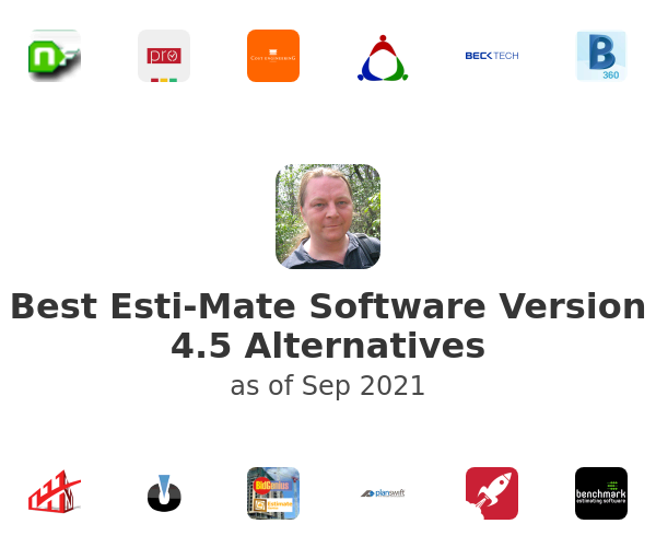 Best Esti-Mate Software Version 4.5 Alternatives