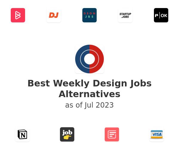 Best Weekly Design Jobs Alternatives